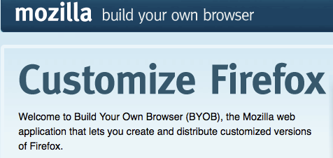Build Your Own Firefox