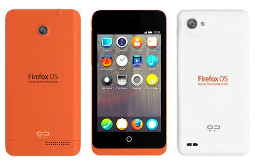 Telefony Firefox OS