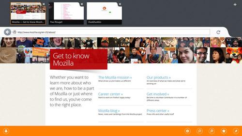 Metro UI Firefoxu