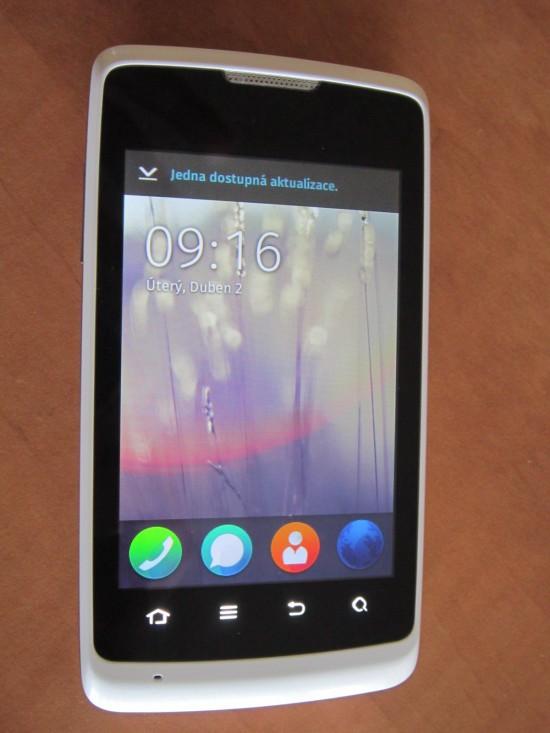 Telefon s Firefox OS