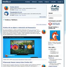 Mozilla Europe design