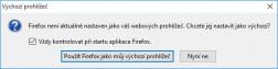 Win10 - dialog Výchozí prohlížeč